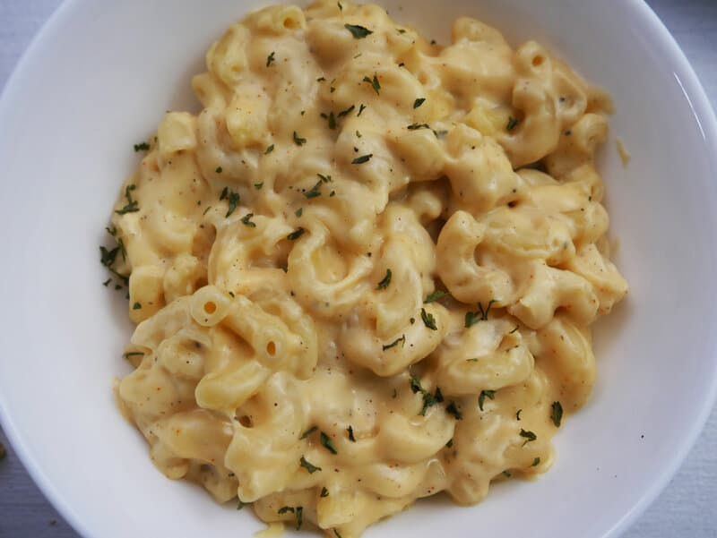 Mac cheese milk substitutes